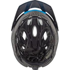 MET Crossover Casco, negro/azul